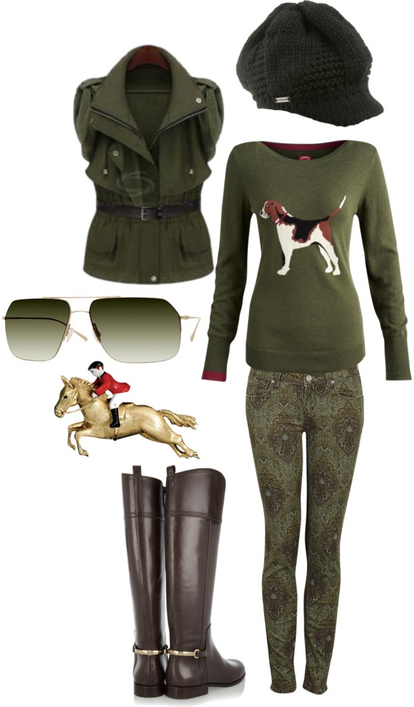 """English Fox Hunt"" by country-artisan on Polyvore"