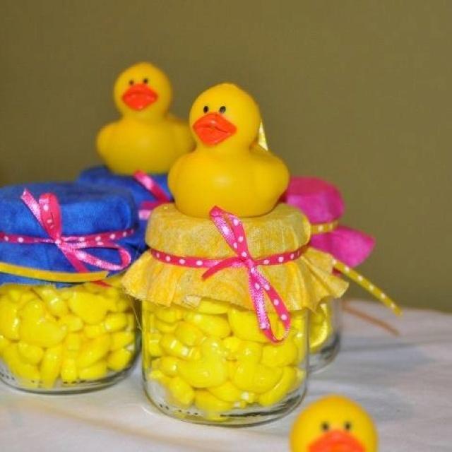 Baby Food Jar Party Favor!