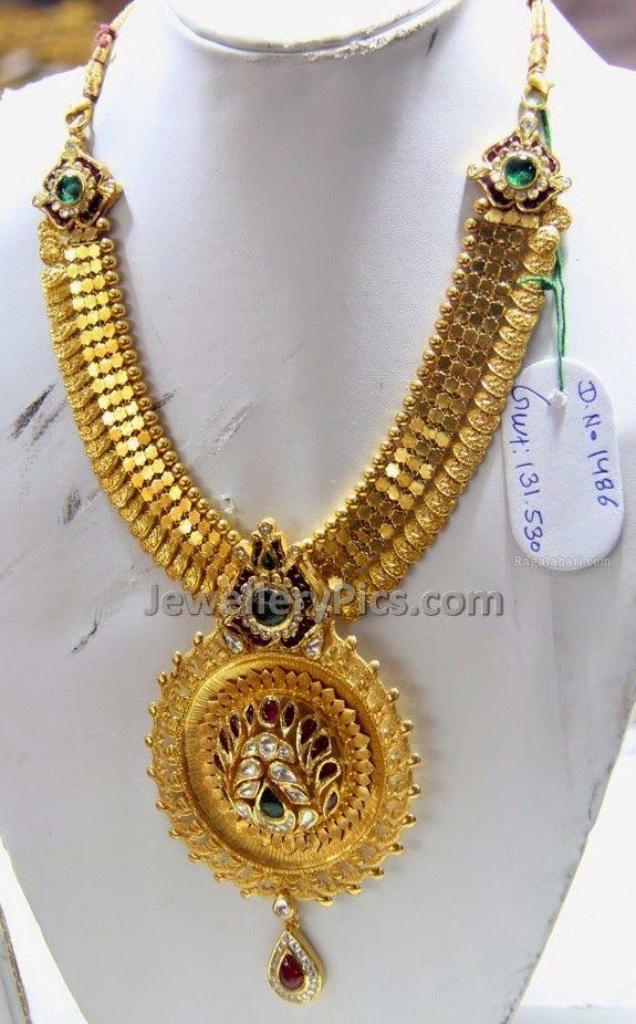kasulaperu short gold necklace