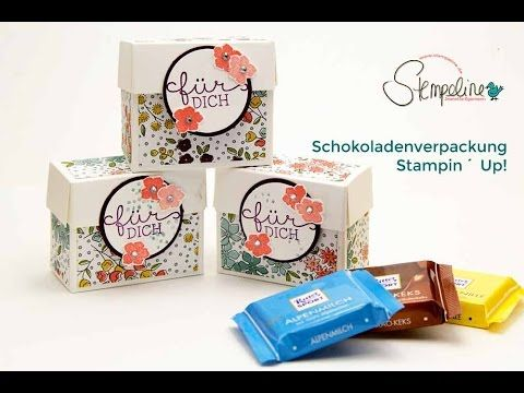 Video-Tutorial: Schokoladenverpackung Stampin´ Up! - Stempeline