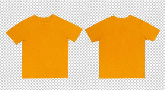 10997+ Yellow T Shirt Mockup Free Branding Mockups File