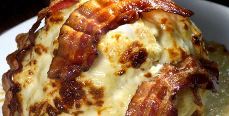 Gratinert blomkål med bacon