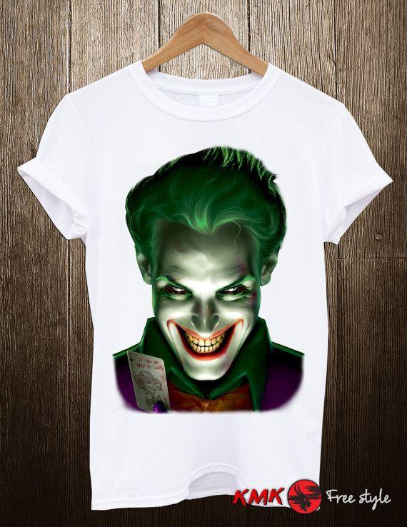 Joker T-shirt / Joker Tee / Scary Joker Tshirt / T by KMKDIGITAL