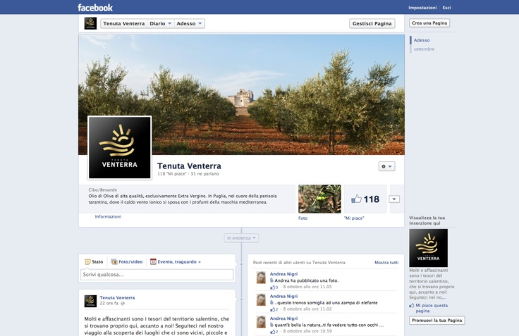#VENTERRA. www.facebook.com/pages/Tenuta-Venterra/112709882215611