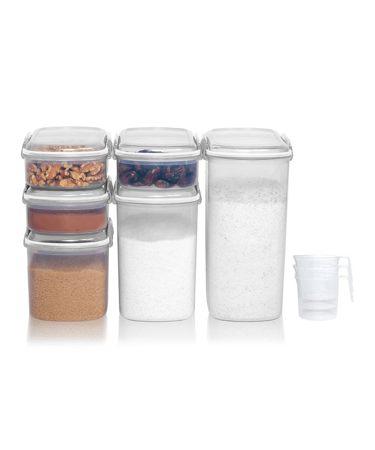Take a look at this White KLIP IT Bakery Container Set today!