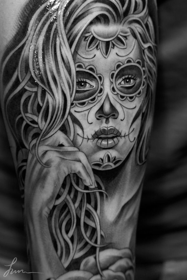 muertosrose juncha1 in tattoo inspiration calavera pinterest tattoo chicano tattoos and tatoo. Black Bedroom Furniture Sets. Home Design Ideas