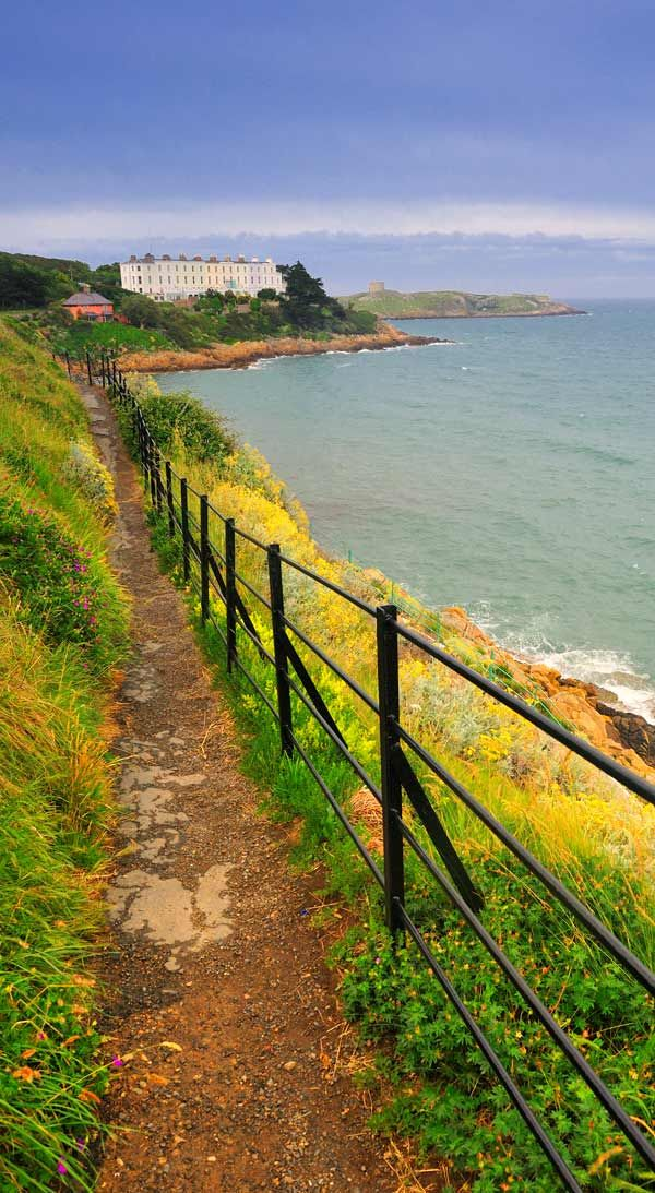 Dalkey - Dublin, Ireland: A Viking settlement famous for its pubs and restaurants. Lots of great views and perfect for a stroll on a beautiful Irish day.