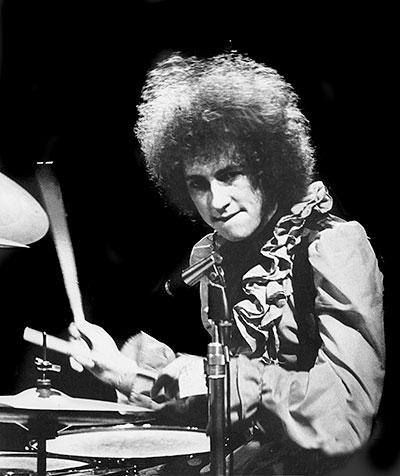 Did you know...  Mitch Mitchell - drummer for Jimi Hendrix - auditioned for Paul McCartney & Wings but lost the gig in a coin toss to Geoff Britton?
