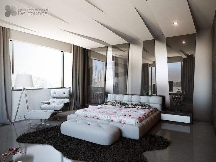 Modern Bedroom with Great Ceiling Design   10 Impressive Bedroom Ceiling  Ideas. 17 Best ideas about Bedroom Ceiling Designs on Pinterest   False
