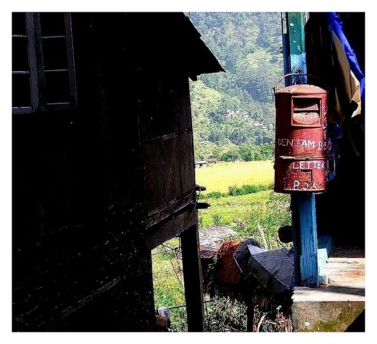 **THE OLD LETTER BOX OF DENTAM ~SIKKIM** through the eyes of lifeofjoy