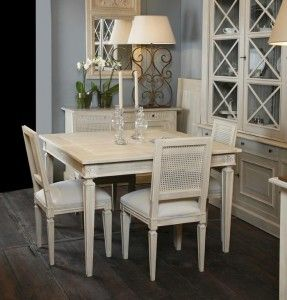 Mesa comedor extensible de forma cuadrada o rectangular casas pinterest mesas and valencia - Mesa cuadrada comedor ...