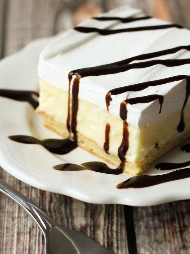 Everyone knows that the best part about a cream puff is its fluffy filling. Inside-Out Cream Puff Cake is a super easy cake recipe that prominently features the creamy filling. In fact, the cake may be more cream puff filling than cake!
