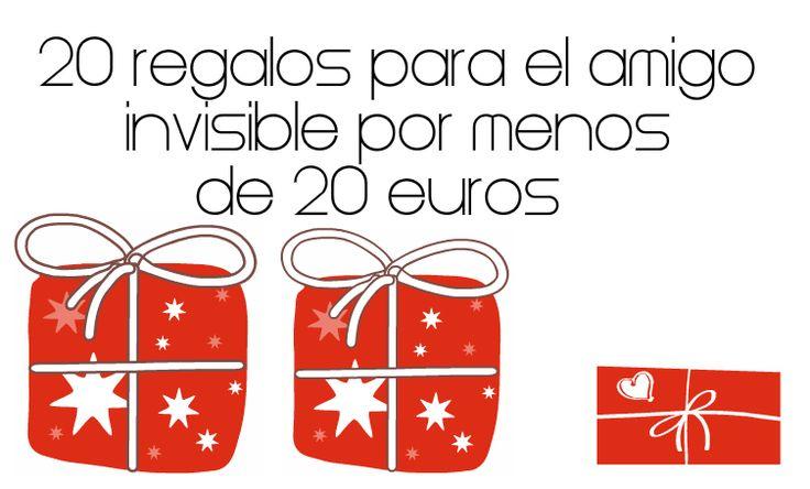 20 regalos para el amigo invisible por menos de 20 euros - Regalo amigo invisible ideas ...