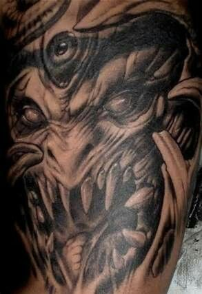 1000 images about cool tattoos on pinterest zombie tattoos ink and back pieces. Black Bedroom Furniture Sets. Home Design Ideas