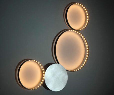 Wonderful circle line LED Light _More on our website: www.designalpino.it