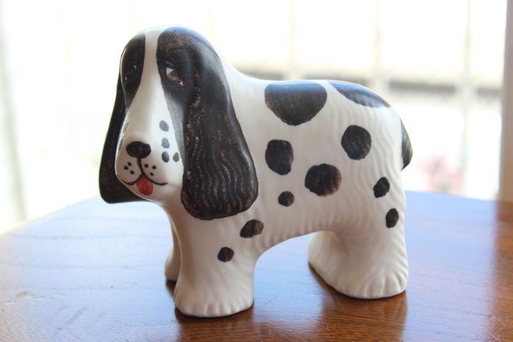 リサ ラーソンの「SPANIEL/スパニエル」 #インテリア #柳井市 丸い斑点が特徴のちょっとおとぼけな表情がかわいいですよ♪ 犬好きの方にもおすすめです。 http://www.paysage.jp ライフスタイルショップ ギフト PAYSAGE / ペイザージュ LINE@ ID: @paysage