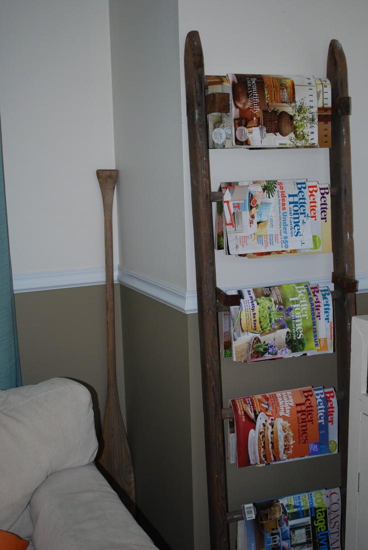 living room magazine holder 17 best images about ladders stairways to heaven or at 15438
