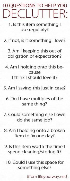 Before #selling your #home: 10 Questions to help you Declutter.  Selling in San Antonio, Texas? Call Cassie, SA Realtor (210) 459-0980