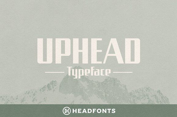 Uphead Vintage Font Typeface Vintage Fonts Typeface Instagram Font