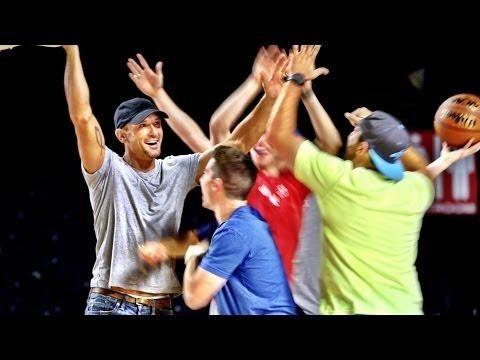 Dude Perfect Team Up With Tim McGraw To Make Trick Shots - #TrickShots #TimMcGraw