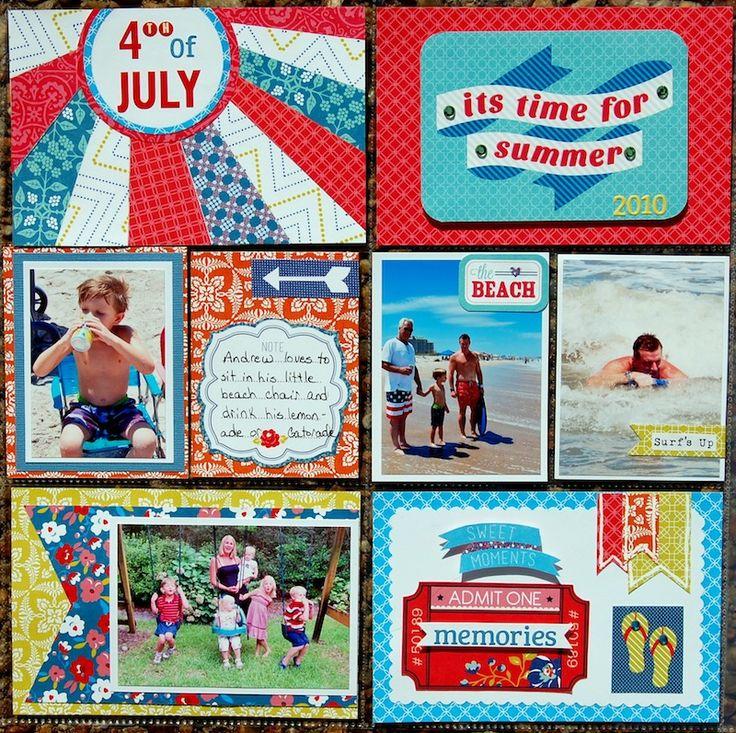 4th Of July - Project Life - Scrapbook.com