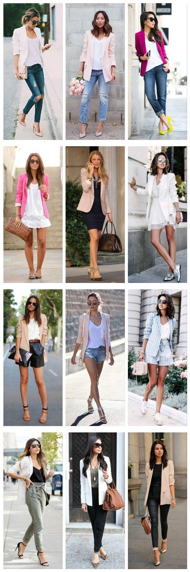 С чем носить женский блейзер? — Модно / Nemodno