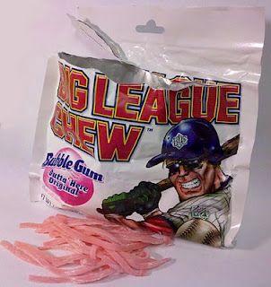 Big League Chew bubble gum