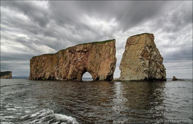 Percé Rock. by evelyng23, via Flickr