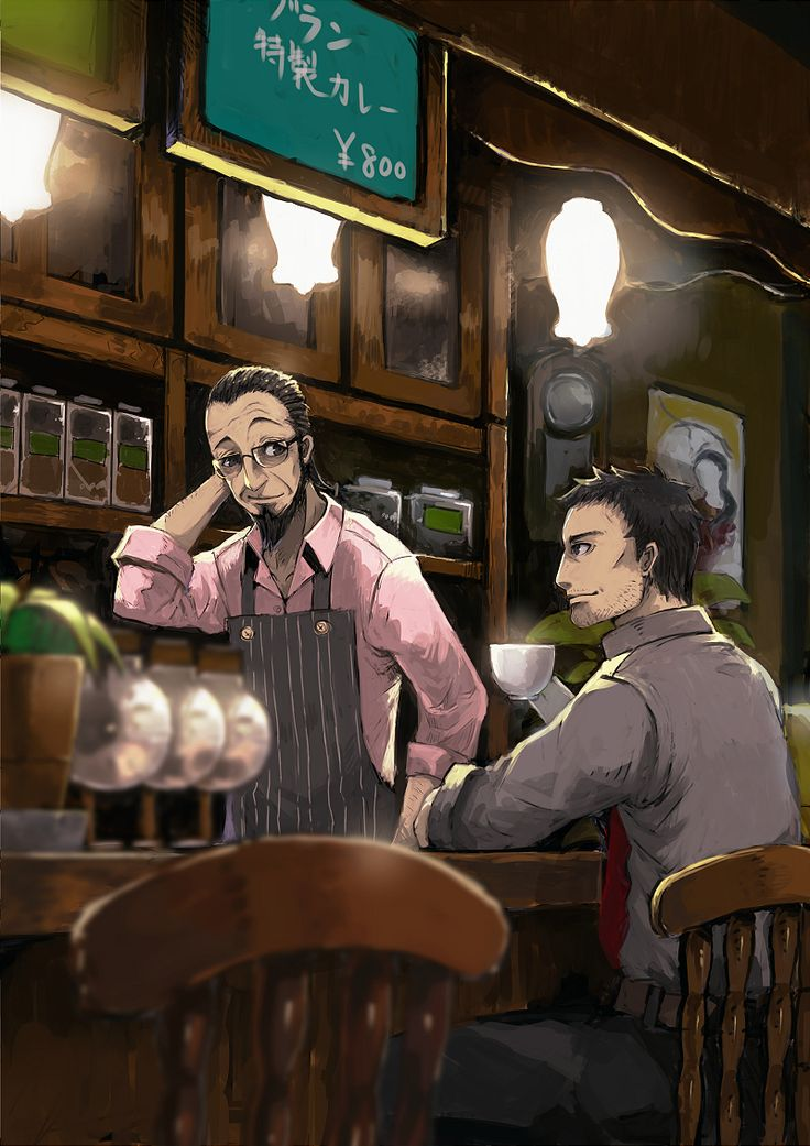 Persona 5 Sojiro Sakura & Dojima. These two would get along amazingly well