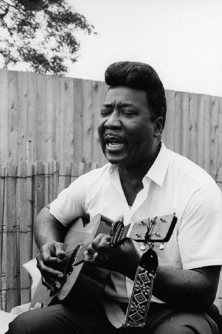 Muddy Waters, the father of Chicago blues.