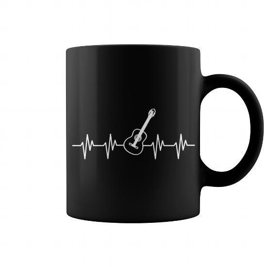 GUITAR PLAYER  IT IS IN MY HEARTBEAT MUG #mugs #coffee #coffeemugs #guitar
