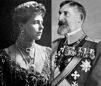 Queen Maria and King Ferdinand of Romania (1914-1938)