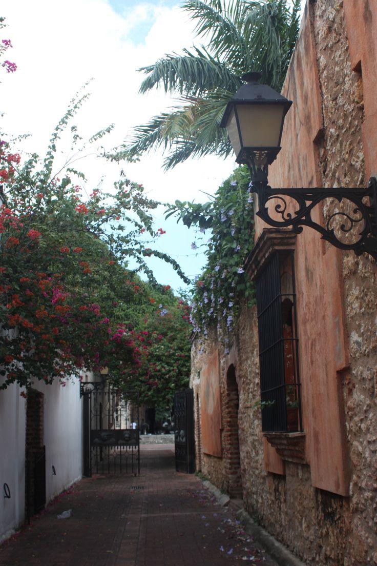 Paseo de los Curas, Zona Colonial, Santo Domingo, Dominican Republic.