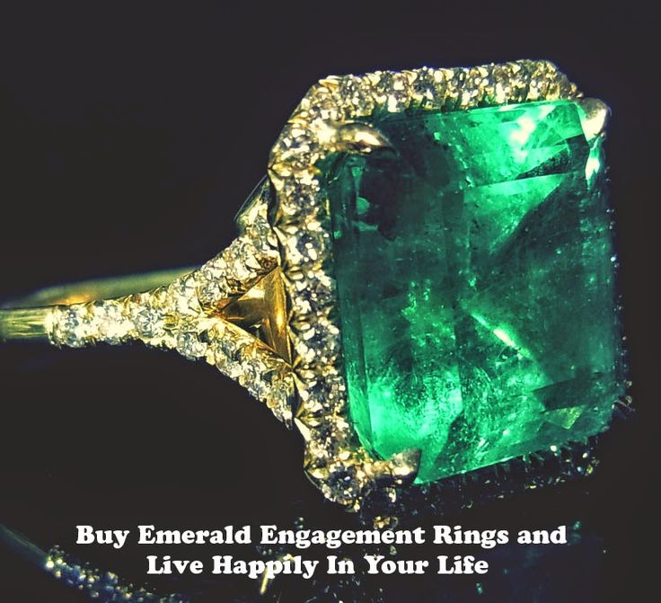53 best Emerald Engagement Rings images on Pinterest