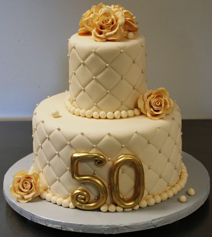 50th Wedding Anniversary Ideas Pinterest : 50th Wedding Anniversary Cake Wedding cakes Pinterest
