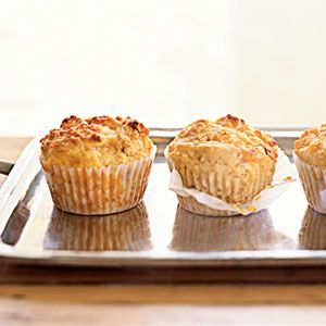 Bacon-Cheddar Corn Muffins | MyRecipes.com
