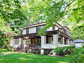 35 best images about 1900 1920 prairie style on pinterest for Prairie style house characteristics