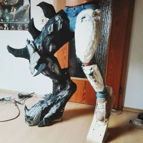 Warcraft Demon Hunter Cosplay In Progress