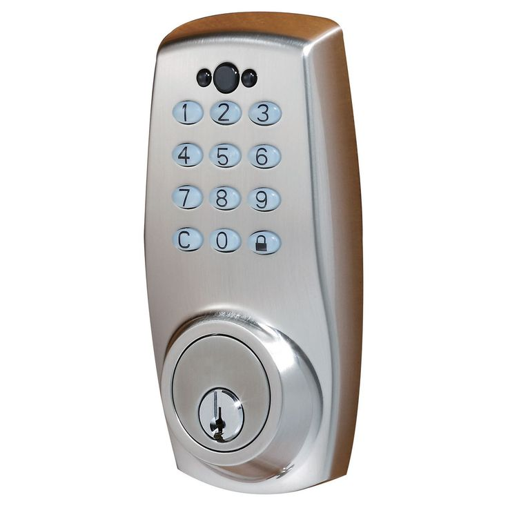 Electronic Deadbolt With Auto Lock Schlage Co200