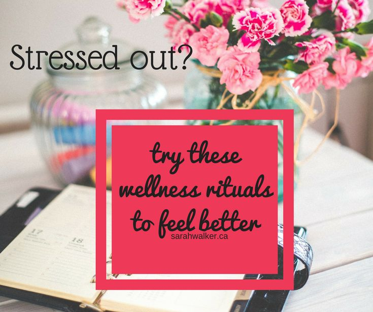 daily wellness rituals