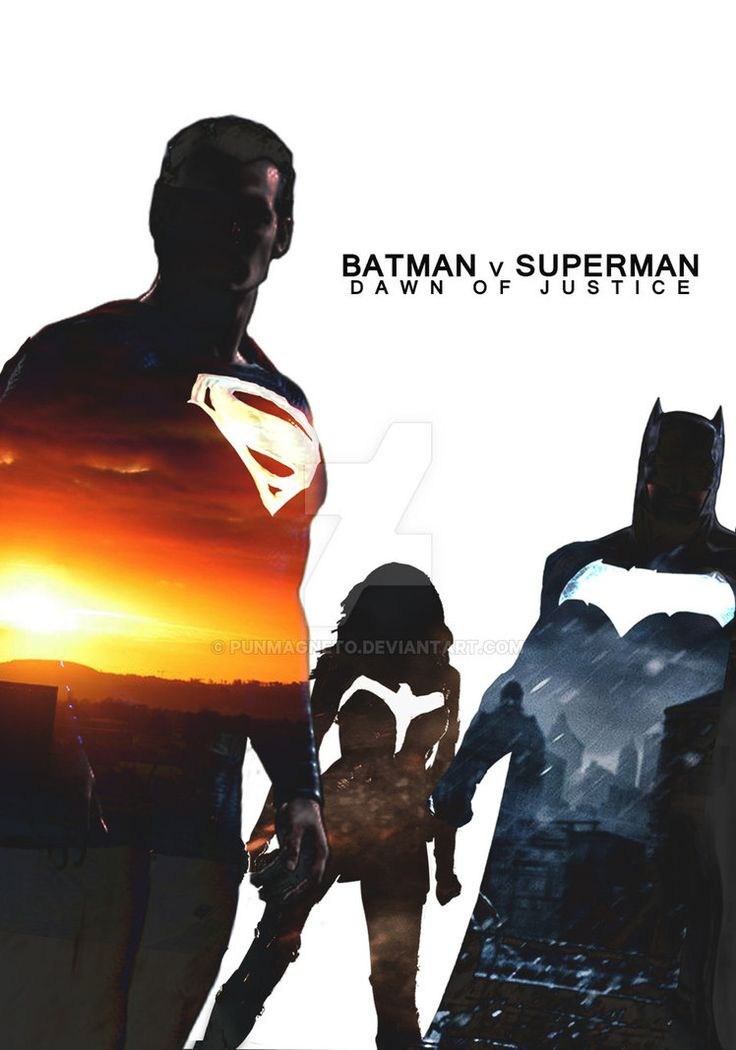 Batman v Superman:Dawn of Justice Fanmade Poster by punmagneto on DeviantArt