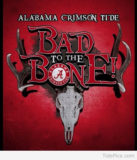 Bad to the Bone | Alabama Crimson Tide Pictures | TidePics.com
