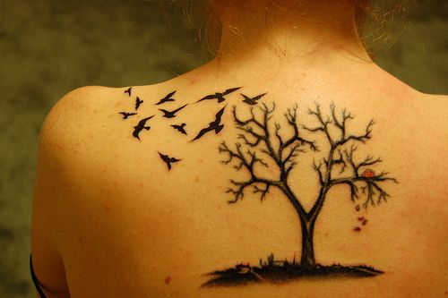 Something like this to go with my birds and slowly start a sleeve :)