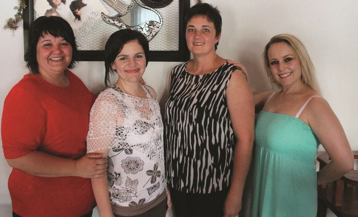 A group of women lost 207 kilograms after completing a weight-loss challenge on November 29.
