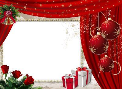 Tus fotos geniales esta Navidad. 5 bellos marcos para fotos gratis en Png. | Marcos Gratis para Fotografías.