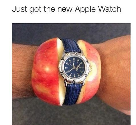 Whadaya think? It's actually pretty cool!! Like, if I'm hungry, it can even give me a snack...can your watch do that??
