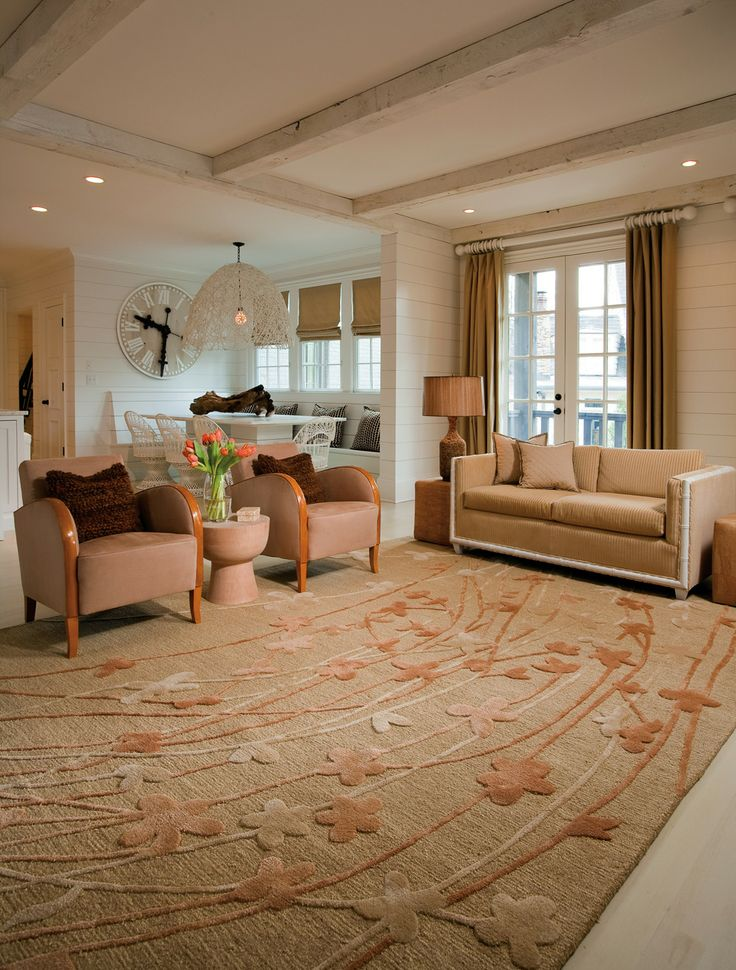 Wildflower area rug in living room area rugs - Carpets for living room online india ...