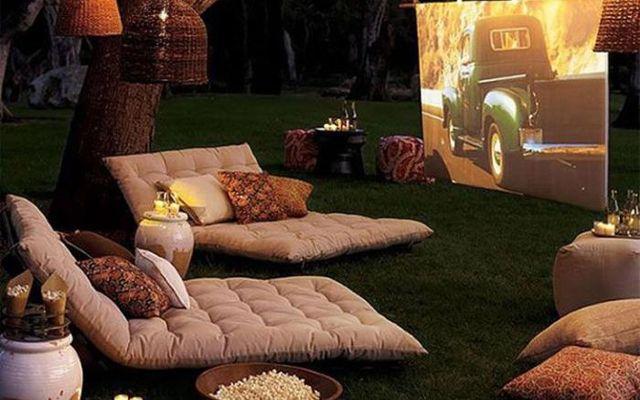 Все возможно - идеи для дома вашей мечты: Кинотеатр на заднем дворе