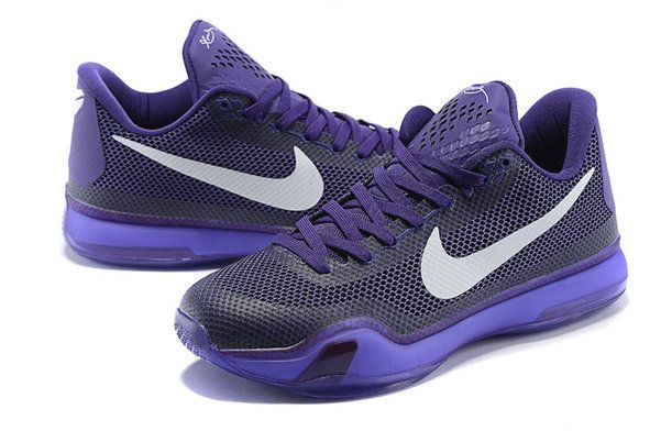 Free Shipping Only 69  Kobe 10 X Hyper Grape Club Purple White ... f3a06ce467