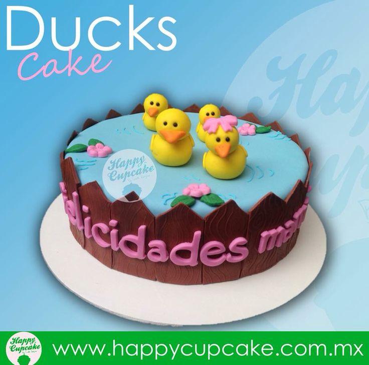 #DuckCake #patos #HappyCupcake